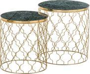 Set 2 tavolini in marmo Blake
