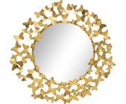 Specchio da parete aspetto antico Butterfly