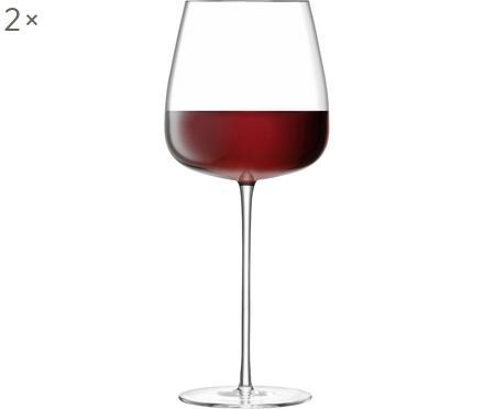 Bicchiere da vino rosso in vetro soffiato Wine Culture 2 pz