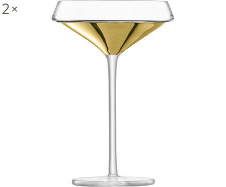 Coppa champagne in vetro soffiato Space 2 pz