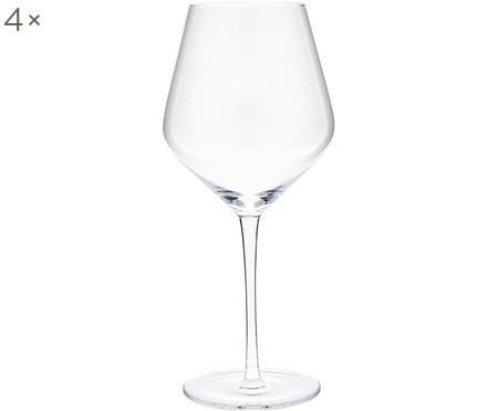 Bicchiere vino rosso in vetro soffiato Ays 4 pz