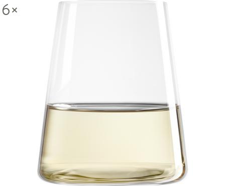Bicchiere in cristallo a forma di cono Power 6 pz