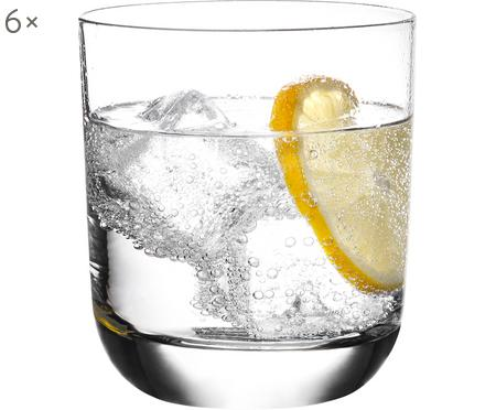 Bicchiere con bordo sottile in cristallo Harmony 6 pz