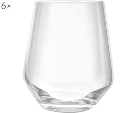 Bicchiere acqua in cristallo Revolution 6 pz