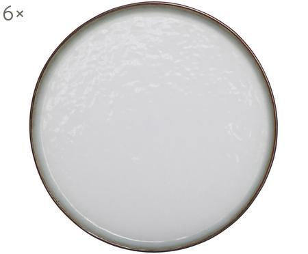 Piattino da dessert in terracotta Plato 6 pz