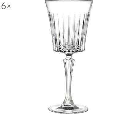 Bicchiere da vino bianco in cristallo Timeless 6 pz