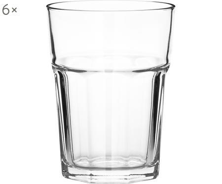 Bicchiere acqua impilabile di Gibilterra 6 pz