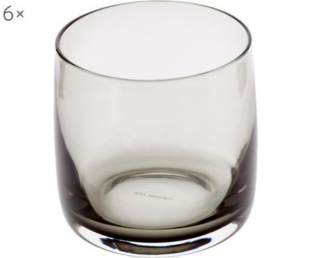 Bicchiere acqua Colored 6 pz