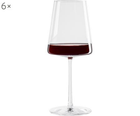 Bicchiere da vino rosso in cristallo Power 6 pz