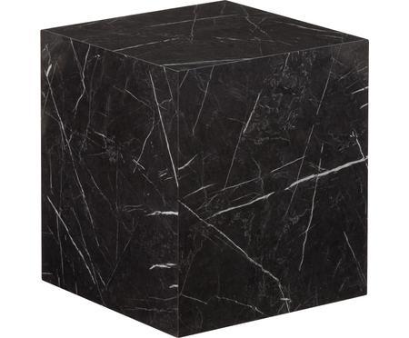 Tavolino quadrato effetto marmo Lesley