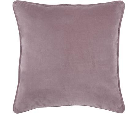 Federa arredo in velluto rosa cipria Dana