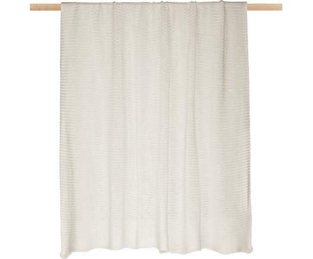 Coperta a maglia bianca naturale Adalyn