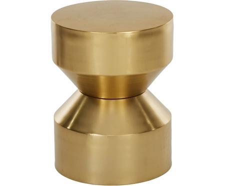 Tavolino in metallo dorato Juliana