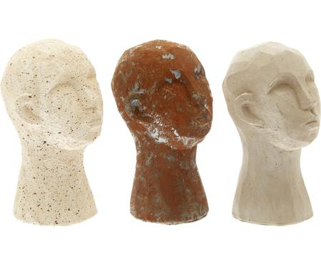 Set 3 oggetti decorativi Figure Head