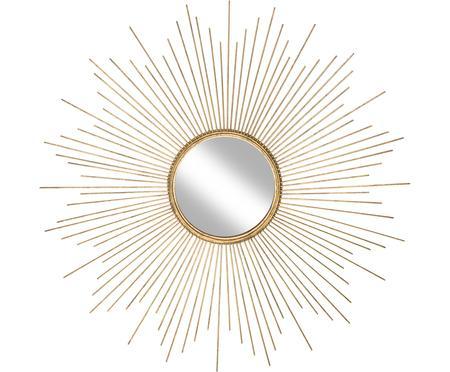 Specchio da parete dorato Ella