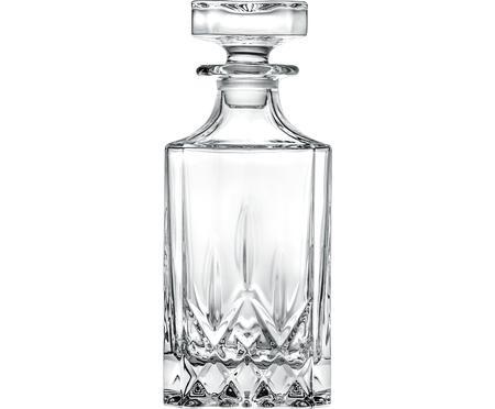 Bottiglia in cristallo con motivo a rilievo Opera