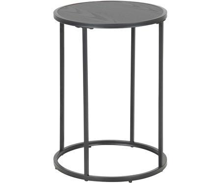 Tavolino d'appoggio in legno e metallo Seaford