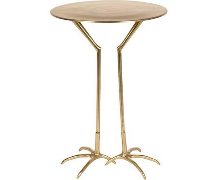 Tavolino rotondo dorato Theen Heron
