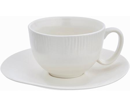 Tazza da tè con piattino fatti a mano Sandvig