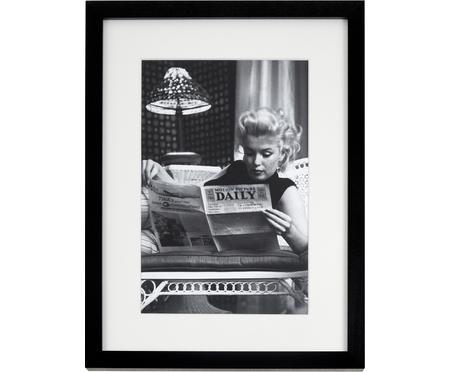 Stampa digitale incorniciata Marilyn Monroe Reading