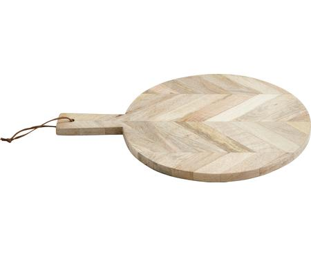 Tagliere in legno di mango Herringbone, Ø 32 cm