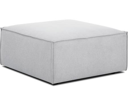 Poggiapiedi da divano grigio chiaro Lennon