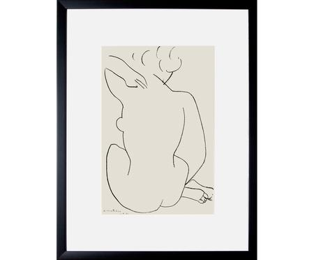 Stampa digitale incorniciata Matisse: Nu Accroupi