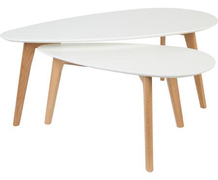 Set 2 tavolini da salotto scandi Nordic