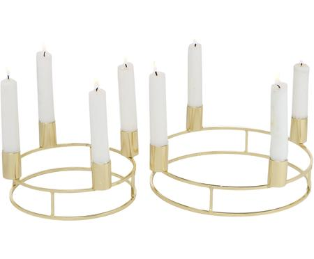 Set 2 candelabri Circlo