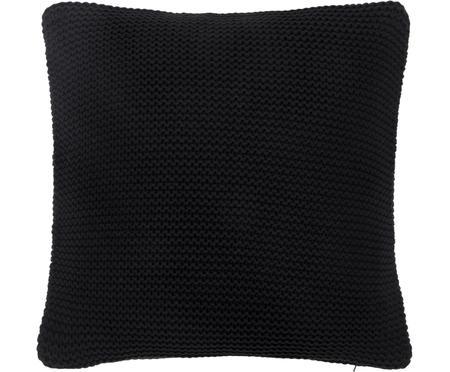 Federa arredo fatta a maglia nera Adalyn