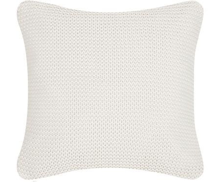 Federa arredo fatta a maglia bianca Adalyn