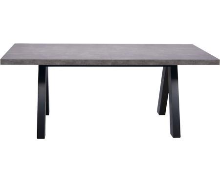 Tavolo allungabile effetto cemento Apex