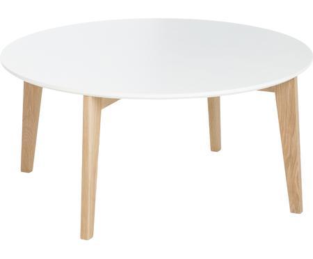 Tavolino da salotto rotondo stile nordico Lucas