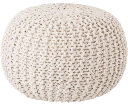Pouf in maglia fatto a mano Dori