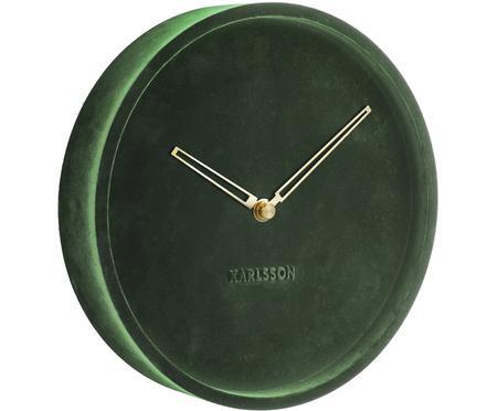 Orologio da parete in velluto Lush