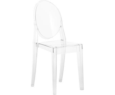 Sedia trasparente Victoria Ghost