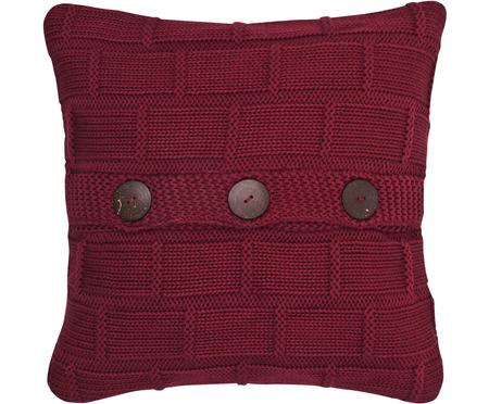 Federa arredo lavorata a maglia Clara