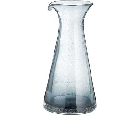 Caraffa in vetro soffiato con bollicine Bubble, 800 ml