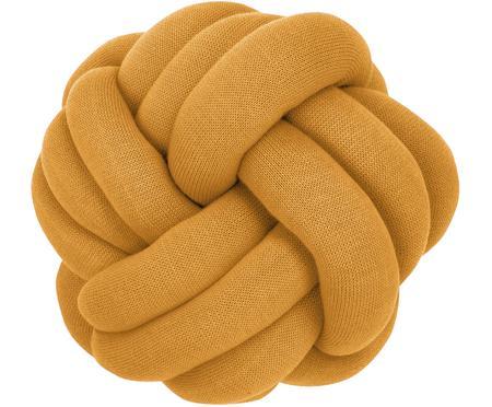 Cuscino giallo senape Twist