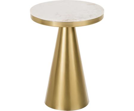 Tavolino da salotto rotondo in marmo Zelda