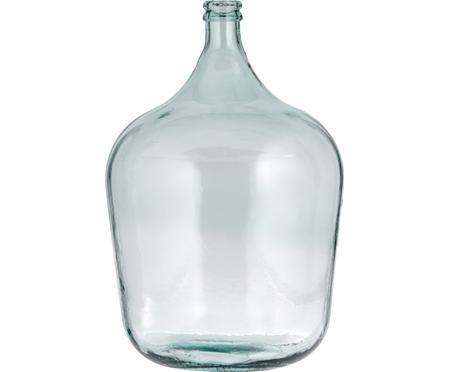 Vaso da pavimento in vetro riciclato Beluga