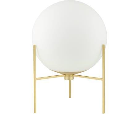Lampada da tavolo in vetro opale Alton