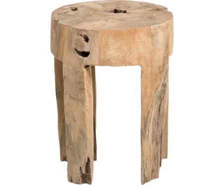Sgabello in legno di teak Java