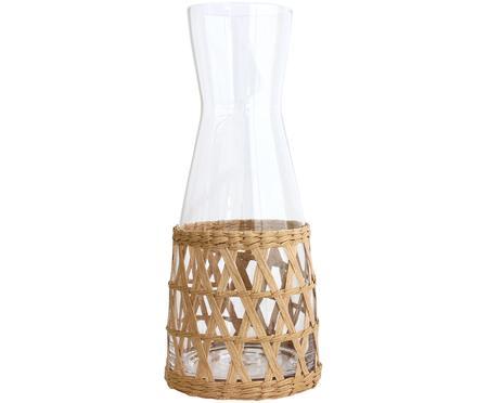 Caraffa fatta a mano con vimini decorativo Wicker, 1 L