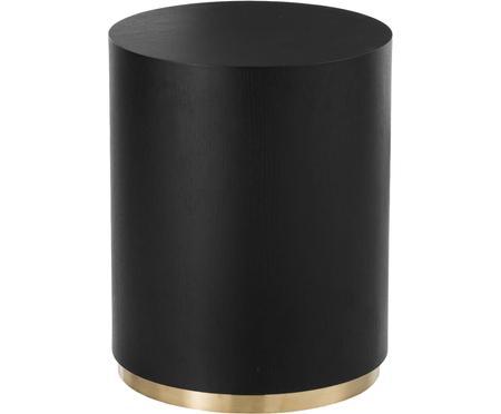 Tavolino rotondo nero Clarice