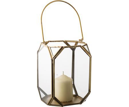 Lanterna in vetro e ottone Ginny
