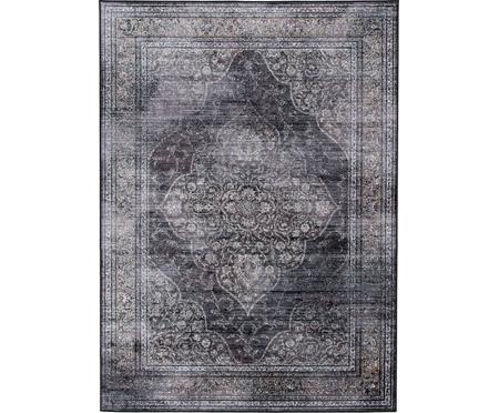 Tappeto vintage tonalità di grigio Rugged