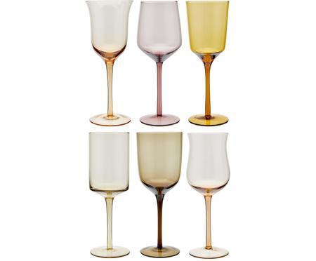 Set 6 bicchieri vino in vetro soffiato Desigual