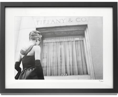 Stampa fotografica incorniciata Hepburn Colazione da Tiffany