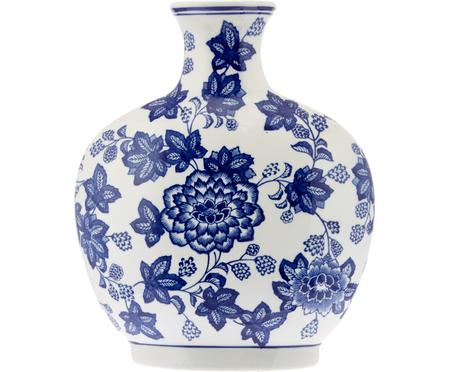 Vaso in ceramica Blue Flowers